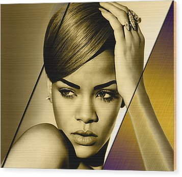 Rhianna Collection Wood Print