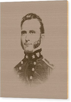 Stonewall Jackson Wood Print by War Is Hell Store