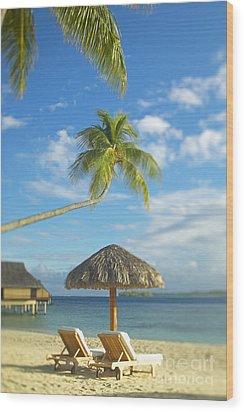 Tahiti, Bora Bora Wood Print by Kyle Rothenborg - Printscapes
