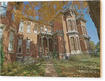 Vaile Mansion Wood Print