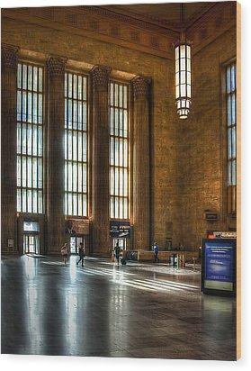 30th Street Station Wood Print