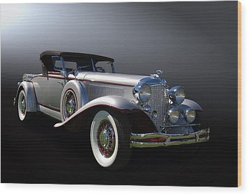 31 Chrysler Imperial Wood Print by Bill Dutting