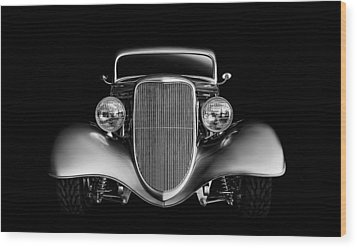 Wood Print featuring the digital art '33 Ford Hotrod by Douglas Pittman