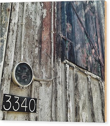 Wood Print featuring the photograph 3340 by Olivier Calas