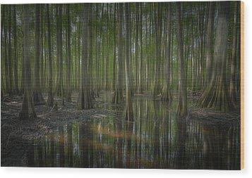 Untitled Wood Print by Bill Martin