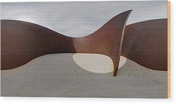 Wood Print featuring the photograph 360 Serra by Robert Harshman