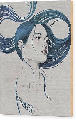 361 Wood Print by Diego Fernandez