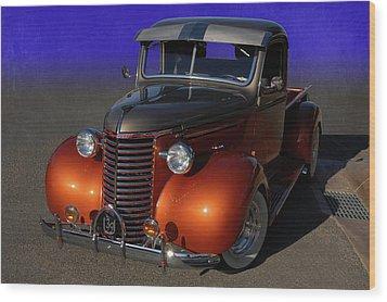 39 Chevy Pickup Wood Print by Bill Dutting