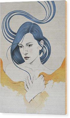 399 Wood Print by Diego Fernandez