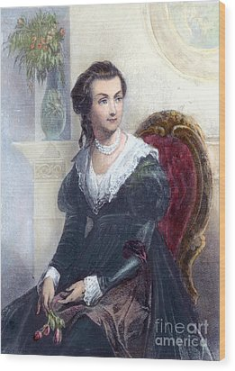 Abigail Adams (1744-1818) Wood Print by Granger