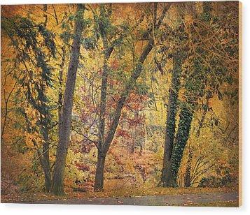 Autumn Canvas Wood Print by Jessica Jenney
