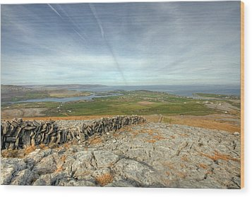 Burren View  Wood Print by John Quinn