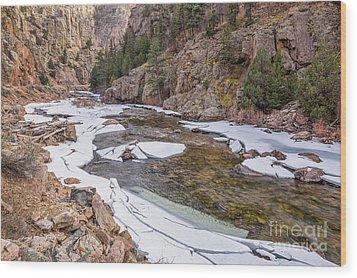 Cache La Poudre River  Wood Print