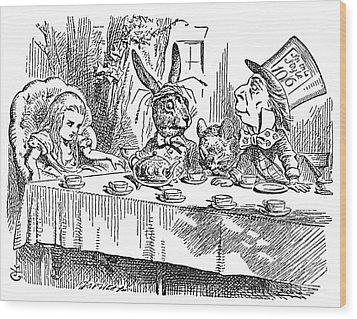 Carroll: Alice, 1865 Wood Print by Granger