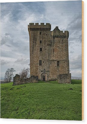 Wood Print featuring the photograph Clackmannan Tower by Jeremy Lavender Photography