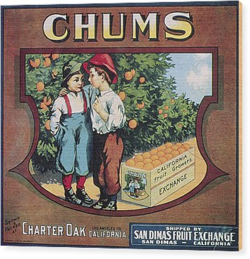 Crate Label, 20th Century Wood Print by Granger