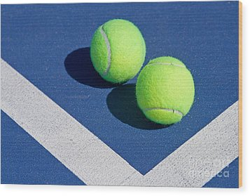 Florida Gold Coast Resort Tennis Club Wood Print by ELITE IMAGE photography By Chad McDermott