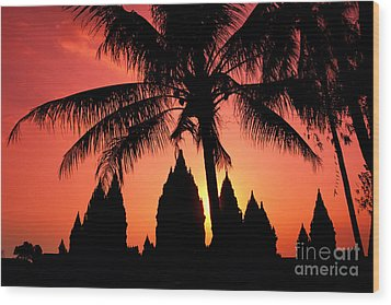 Java, Prambanan Wood Print by Gloria & Richard Maschmeyer - Printscapes