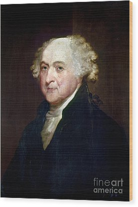 John Adams (1735-1826) Wood Print by Granger