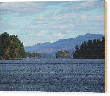 Lake Wood Print by Kate  Leikin