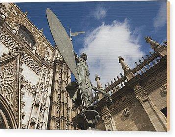 Sevilla Wood Print by Andre Goncalves
