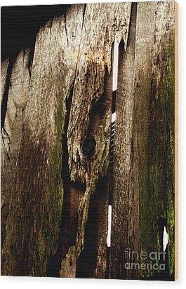 Texture Series Wood Print by Amanda Barcon