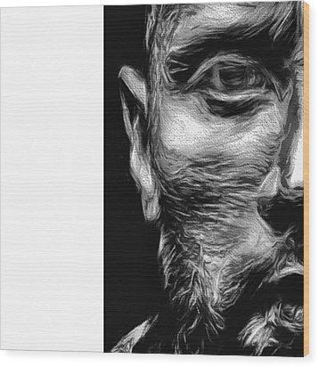 @therock #dwaynejohnson #nfl #disney Wood Print