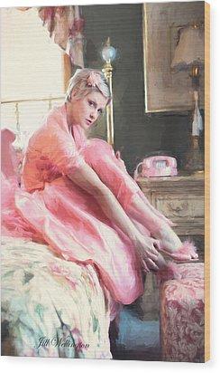 Vintage Val Bedroom Dreams Wood Print