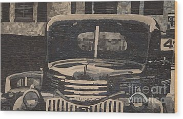 40 Something Wood Print