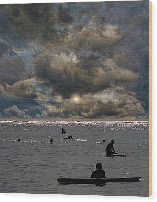 Wood Print featuring the photograph 4367 by Peter Holme III