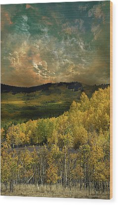 Wood Print featuring the photograph 4394 by Peter Holme III