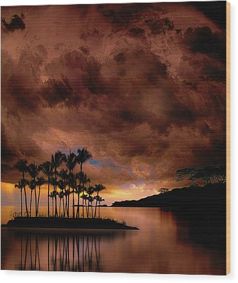 Wood Print featuring the photograph 4401 by Peter Holme III