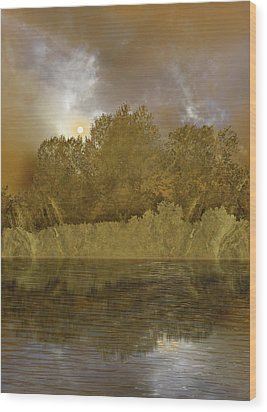 Wood Print featuring the photograph 4411 by Peter Holme III