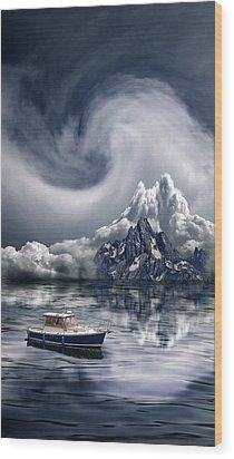 Wood Print featuring the photograph 4412 by Peter Holme III