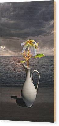 Wood Print featuring the photograph 4416 by Peter Holme III
