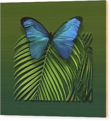 Wood Print featuring the photograph 4426 by Peter Holme III