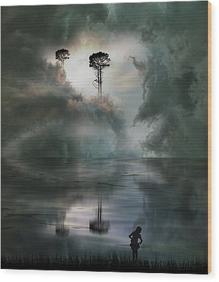 Wood Print featuring the photograph 4494 by Peter Holme III