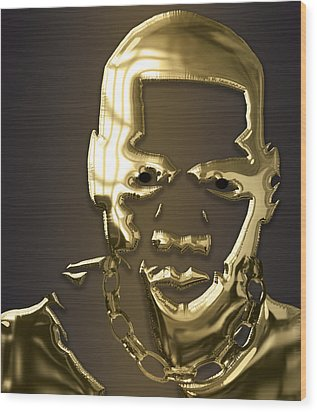 Jay Z Collection Wood Print