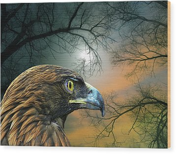 Wood Print featuring the photograph 4506 by Peter Holme III