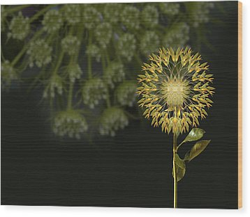 Wood Print featuring the photograph 4512 by Peter Holme III