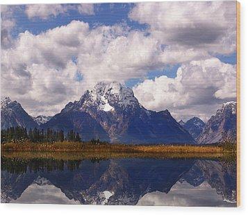 Grand Teton National Park Wood Print by Mark Smith