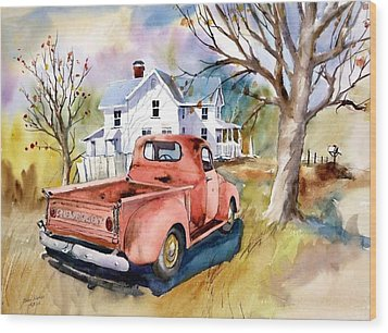 ''47'' Chevy Blues Wood Print