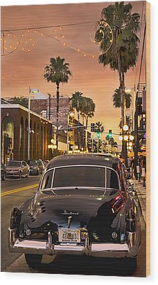 Wood Print featuring the photograph 48 Cadi by Steven Sparks