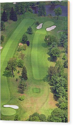 4th Hole Sunnybrook Golf Club 398 Stenton Avenue Plymouth Meeting Pa 19462 1243 Wood Print by Duncan Pearson