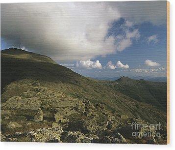 Mount Washington - White Mountains New Hampshire Usa Wood Print by Erin Paul Donovan