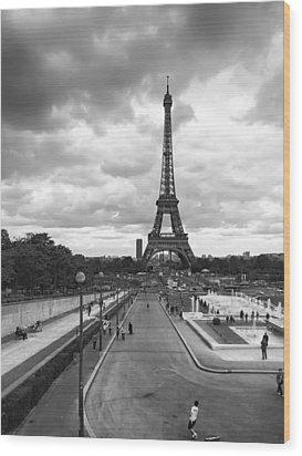 Wood Print featuring the photograph Paris by Hayato Matsumoto