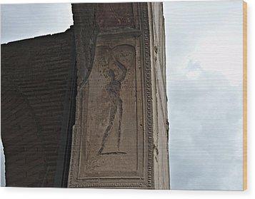 Pompeii Italy Wood Print by Cendrine Marrouat