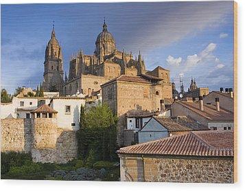 Salamanca Wood Print by Andre Goncalves