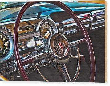 51 Hudson Hornet Dash Wood Print