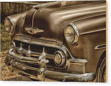 53 Chevy Wood Print